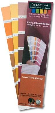 Gratis Farbmuster Auf Farbkarten Online Bestellen