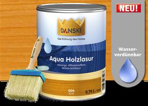 Sehr DANSKE Aqua Holzlasur GX61